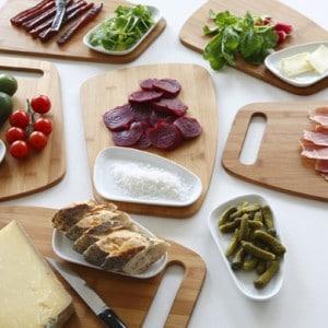 Assiette-planche
