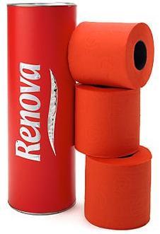 Renova papier wc rouge