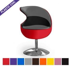"fauteuils pivotants design ""Shark"""