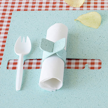 Napkin Catch Placemat