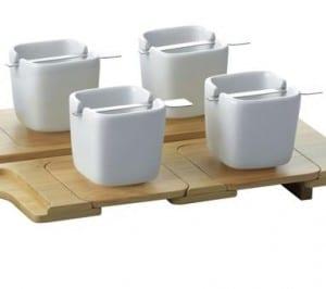 Kookii Set à café design puzzle