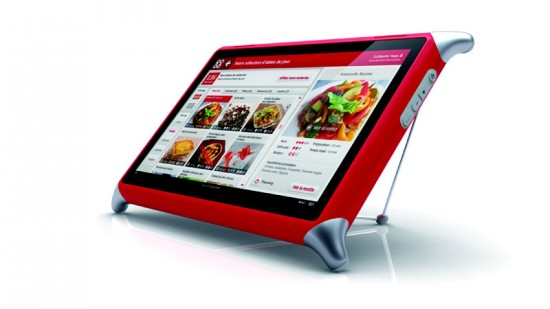 qooq premier coach culinaire tactile tablette deco tendency. Black Bedroom Furniture Sets. Home Design Ideas