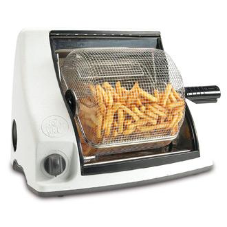 Friteuse sans huile panier rotatif design deco tendency - Cuiseur frites sans huile ...