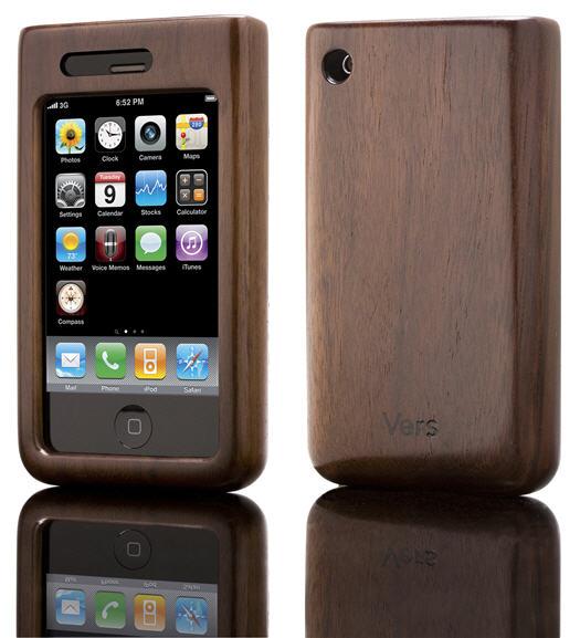 iPhoneshellwalnutp - Shellcase - Un boîtier protecteur en bambou pour iPhone