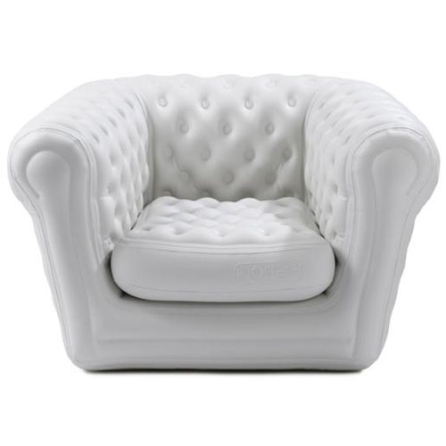 Fauteuil Blofield chesterfield gonflable