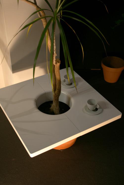 Table pot - Une table naturellement originale Adrien Gardère