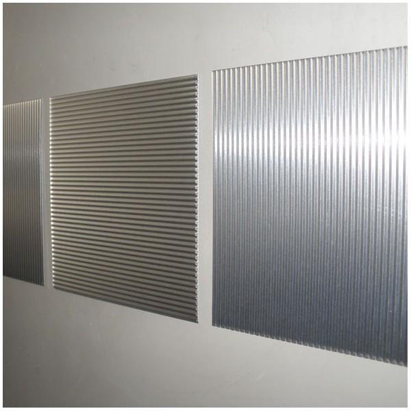 Metal decor des plaques de m tal pour d corer vos murs - Mur effet metal ...