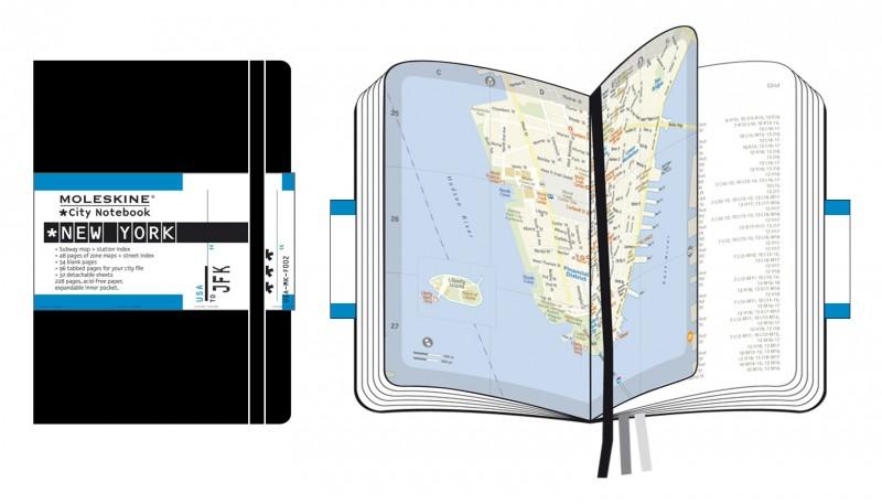 City Book Moleskine New-York
