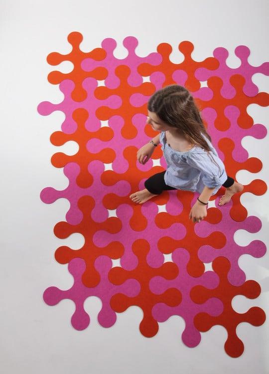 Le tapis Molécule