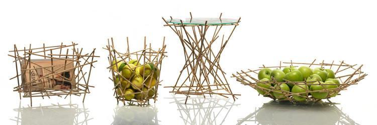 Tables basses originales - Bamboo de Blow Up 1