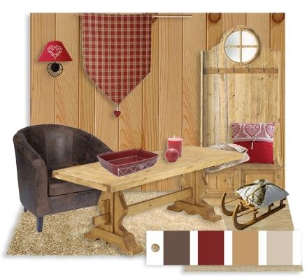 D co de maisons de vacances 3 styles blog deco tendency - Decoration chalet savoyard ...