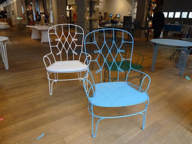 Fildefer fauteuil design Alessandra Baldereschi