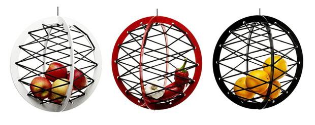 Le panier à fruits suspenduMy fruit basket
