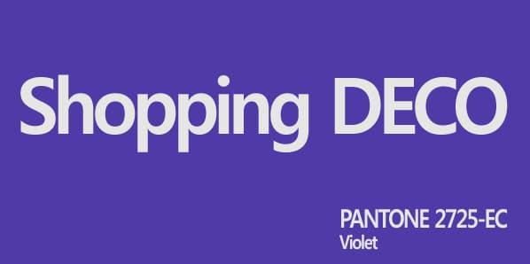 deco violet1 - Gris Pastel - A la découverte de la boutique
