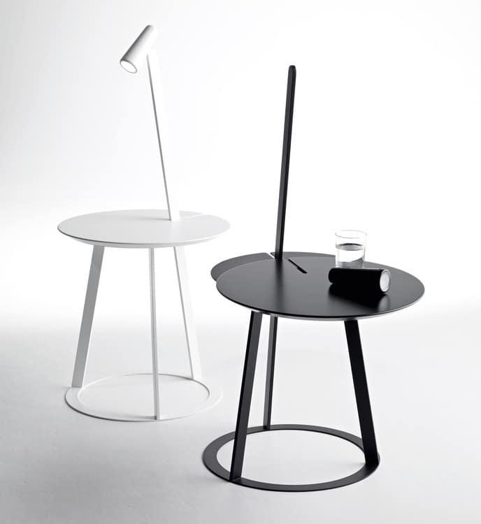 Salvatore Indriolo table d'appoint lampadaire Albino