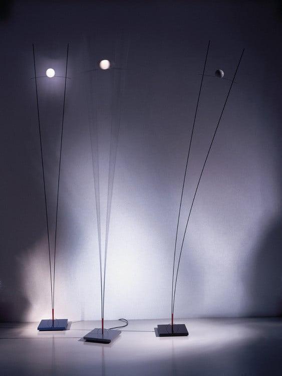 Lampes design -Ilios de Ingo Maurer et Franz Ringelhan
