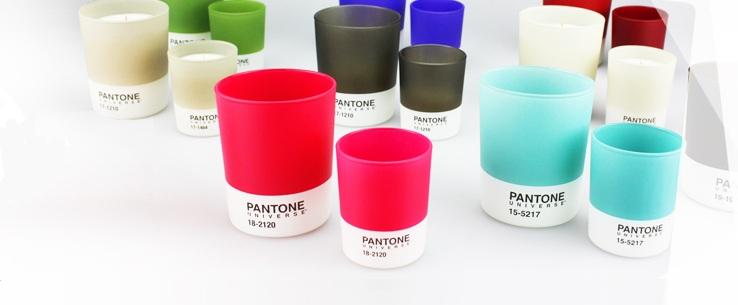 bougies Pantone