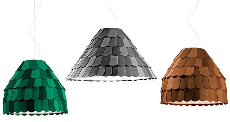 Lustre salon - 12 lustres pour décorer votre salon et votre salle à manger Roofer by Benjamin Hubert