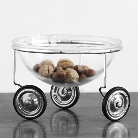 Lescorbeilles à fruitsFruit on wheels by Arnout Visser corbeille à fruits design