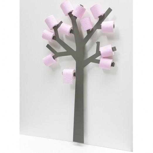 arbre porte papier wc d co design blog deco tendency. Black Bedroom Furniture Sets. Home Design Ideas
