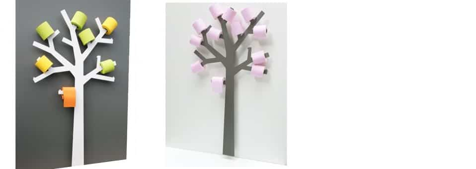 Arbre porte papier wc d co design blog deco tendency - Arbre porte rouleau papier toilette ...