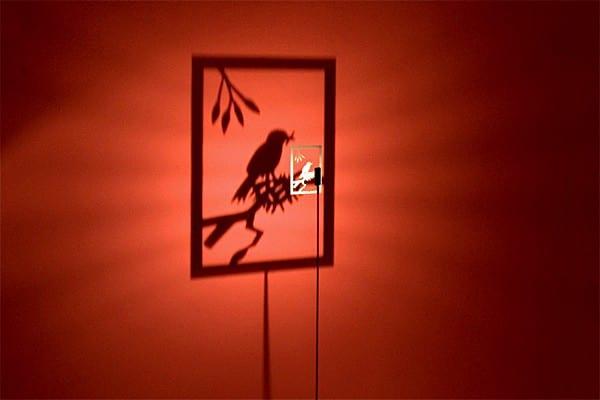 Lampes design -Le lampadaire Shining Image de Michael Rösing 1