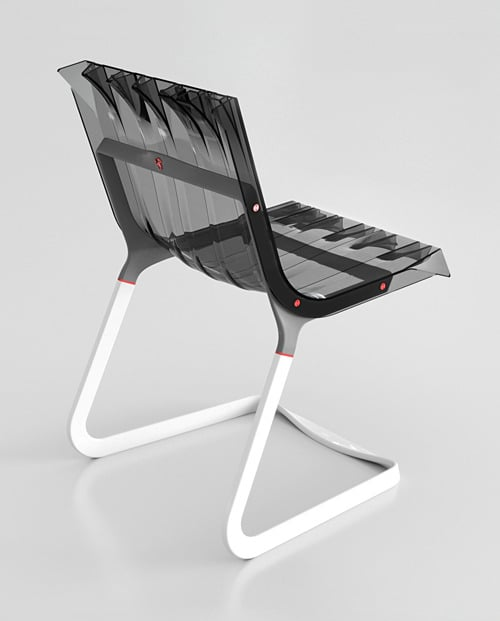Abarth chaise design Fabio Novembre