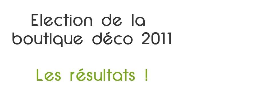 Boutique déco 2011