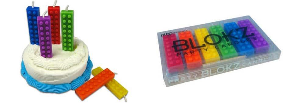 bougies Lego