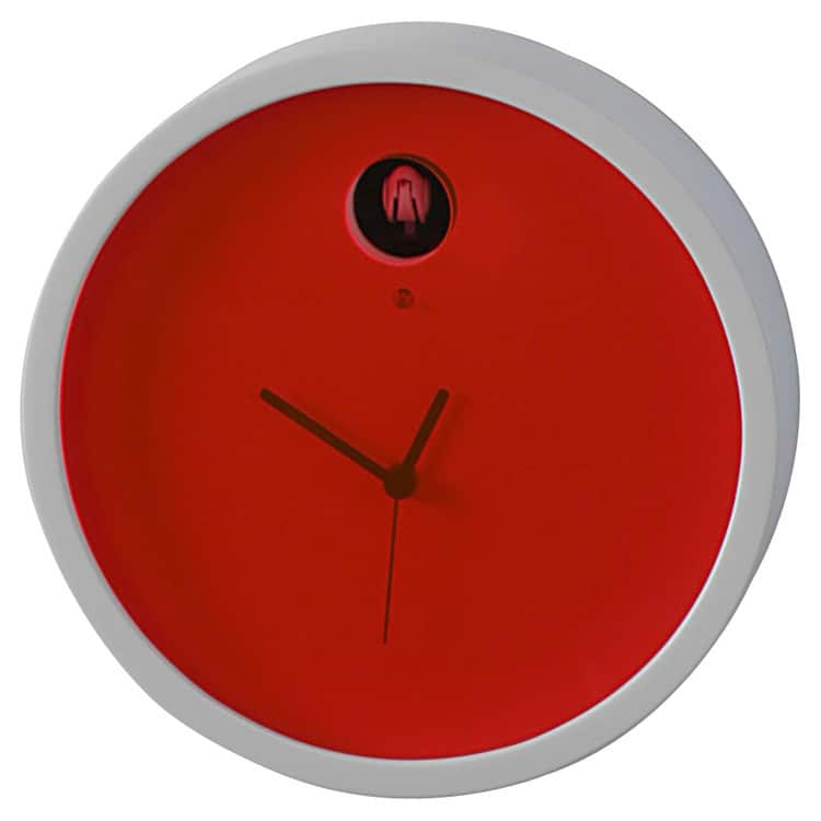 Horloges design : l'horloge à coucou Plex