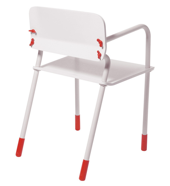 chaise en métalSchool Jokeby Alessandro Zambelli