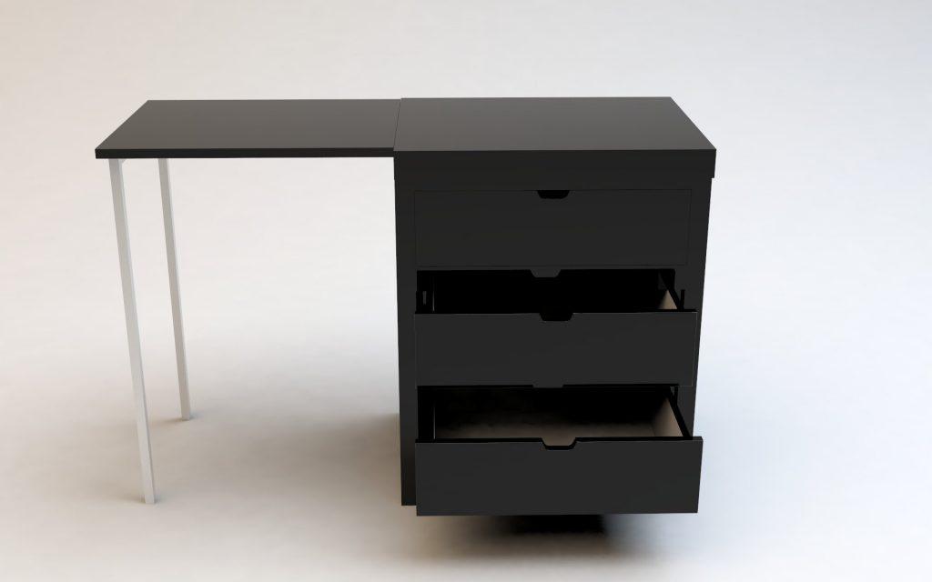 commode transformable design Kobe Nicolas Quier