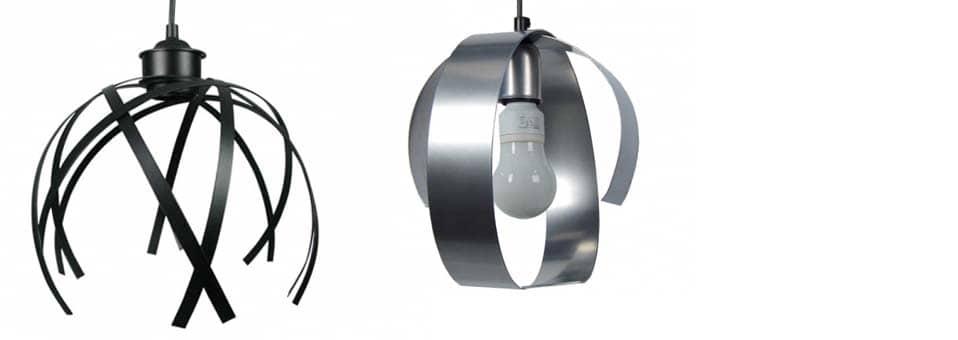 Lustre moderne - 2suspensions design en métal à petit prix
