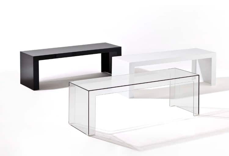 Invisibles Side console basse Tokujin Yoshioka