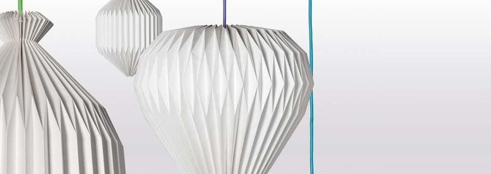 suspensions en papier Paper Dome