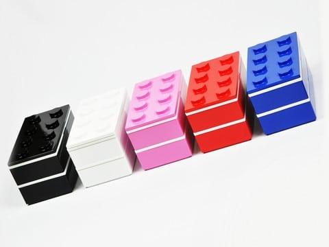 Block Bento boîte à bento Lego