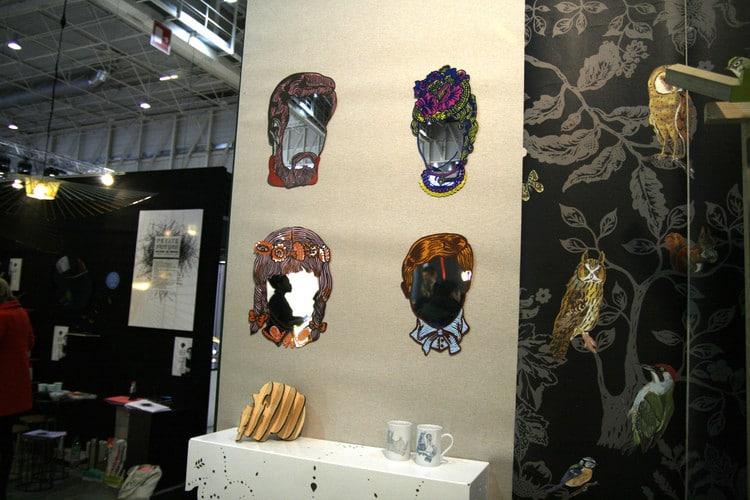 Miroirs design et original - Narcisse by Nathalie Lété