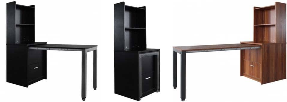bureau tag re sliky pour les petites surfaces. Black Bedroom Furniture Sets. Home Design Ideas