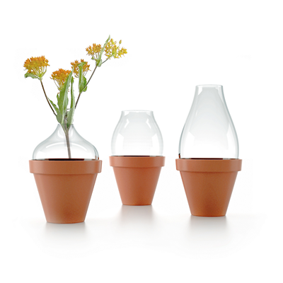 Vase Déco -Le vase sur pot SL32