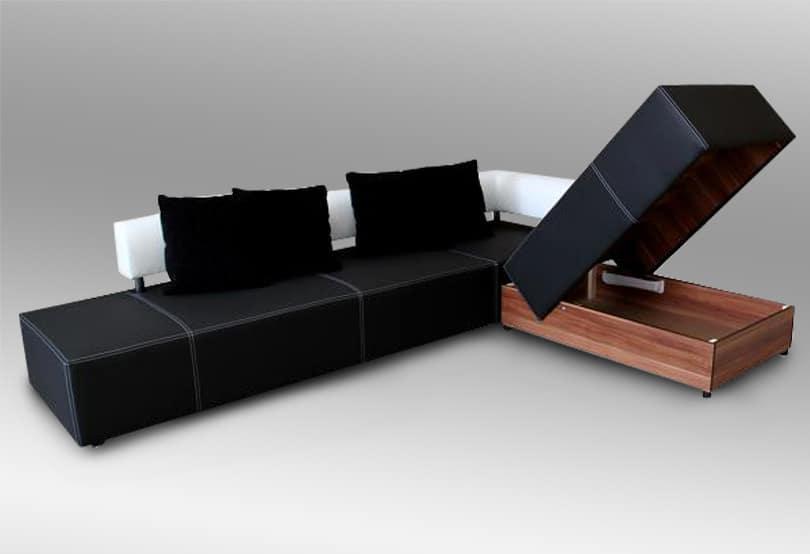 canapé d'angle convertible