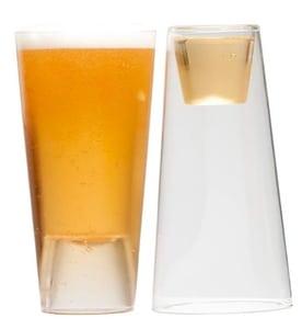 verre à bière bougeoir