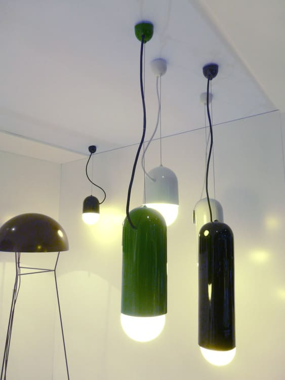 Lustre moderne - Le lustre Pleins Phares byLaurence Brabant