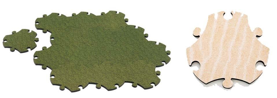 Puzzle Carpet tapis Satyendra Pakhalé