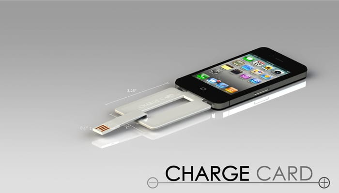 ChargeCard dock iphone