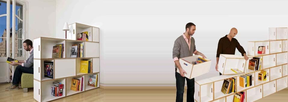 BrickBox étagères Design Kazam