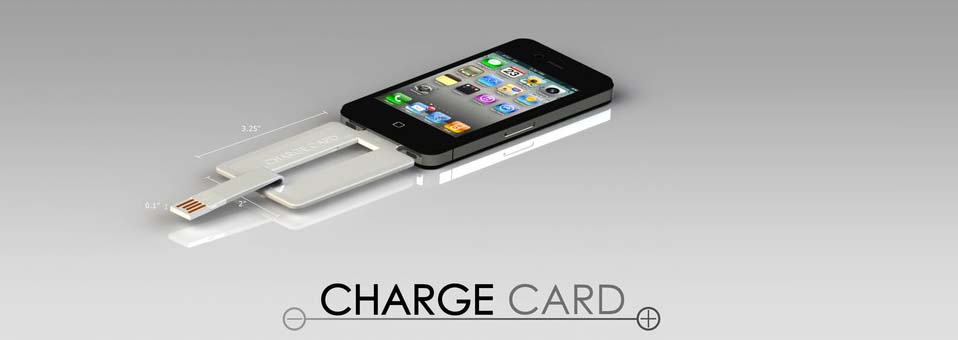 ChargeCard dock iphone design