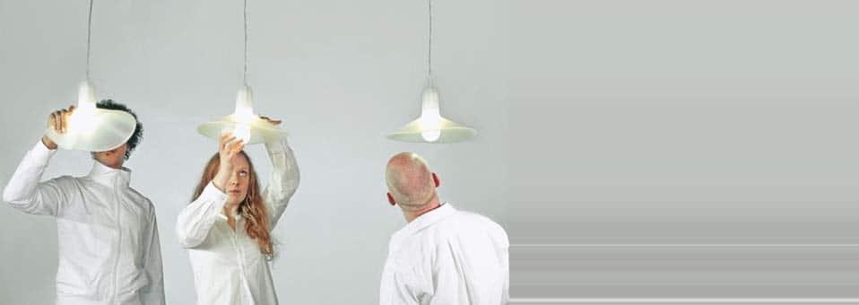 Flex Lamp suspension flexible Sam Hecht