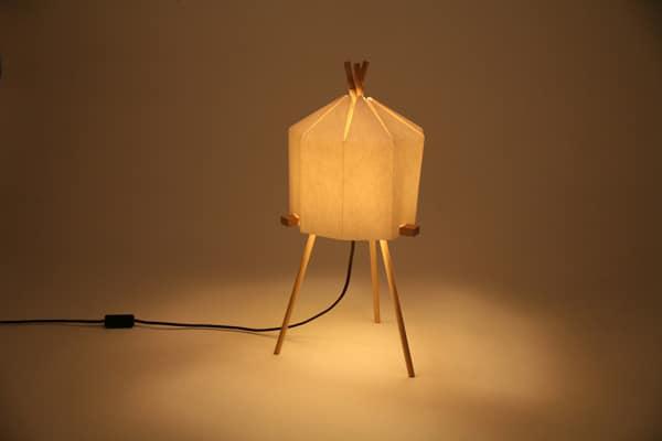 Lampes design -La paper lamp de Milk Design