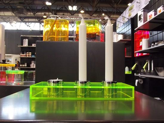 Long Lighz acrylique fluo Maison Objet Septembre 2012
