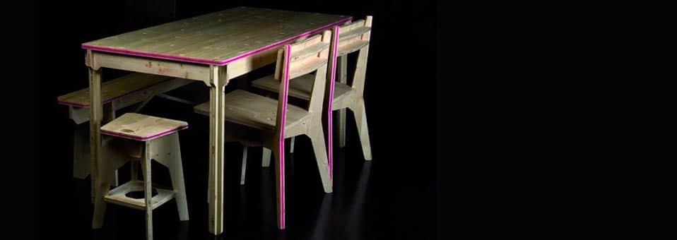 eko le banc by benoit fournier mottet et c line michelland. Black Bedroom Furniture Sets. Home Design Ideas
